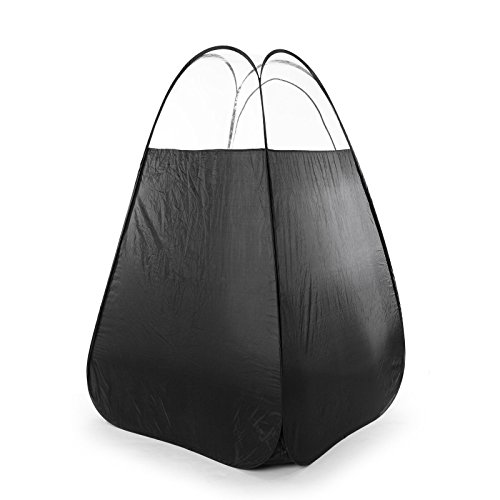 Price comparison product image Black Pop Up Spray Tanning Tent Airbrush Sunless Tan Booth Carry Bag Portable