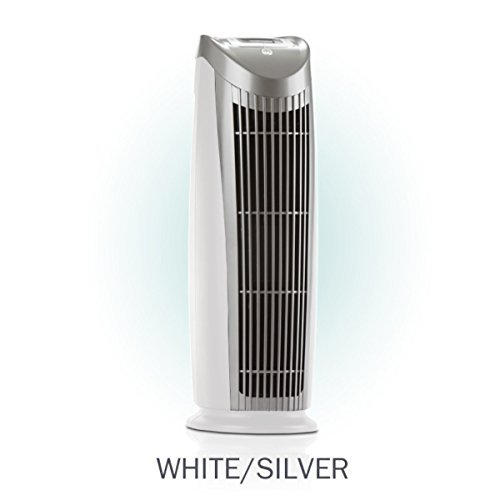 Alen T500 Tower Air Purifier with HEPA-Pure Filter for Allergies and Dust (Silver and White, 1-Pack) by Alen