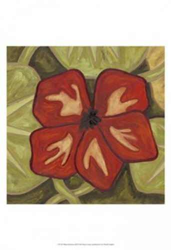 Vibrant Rainforest III Poster Print by Karen Deans (13 x 19)