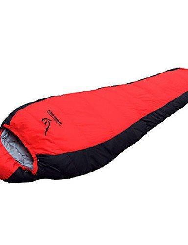 Schlafsack Mumienschlafsack Einzelbett(150 x 200 cm) -10? Enten Qualitätsdaune 1800g 225X78 Reisen Wasserdicht / Kaltes WetterPhoenix