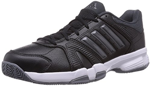 adidas Barracks F10, Herren Hallenschuhe, Schwarz (Core Black/Iron Metallic/Vista Grey S15), 42 EU (8 Herren UK)