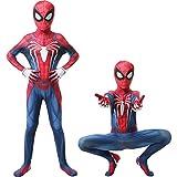 Outdoor Home Spider Costume Kids PS4 Insomniac Spider Suit Boys Zentai Spiderma Cosplay L