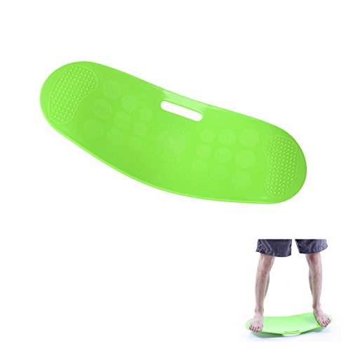 Elibeauty Workout Balance Board Strengthening Board For Legs, Thighs, And Core Balance...