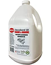 Deccobond 18 Tongue & Groove Wood Flooring Adhesive - 4 Litre (1 Gallon Value Pack)