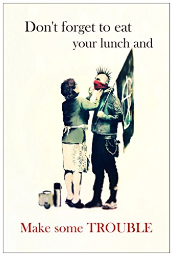 Trouble Banksy Poster Print KCP29