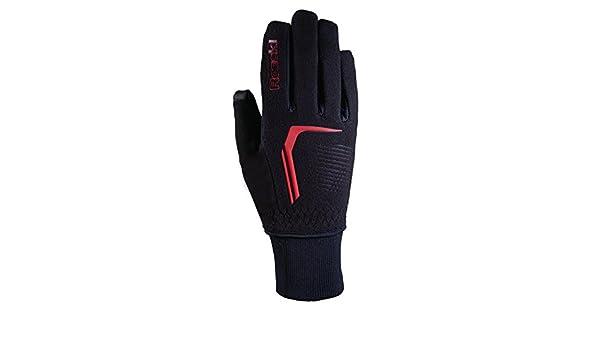 Roeckl rosario JR guantes de invierno para niños de largo colour negro/rojo, color , tamaño 6: Amazon.es: Deportes y aire libre