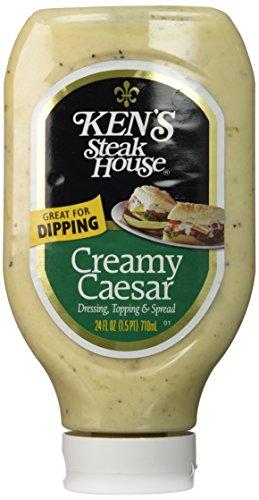 (KEN'S Steak House Creamy Caesar Dressing Squeeze Bottle - 24 Oz)