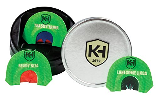 Knight & Hale Bone Collector Deadly Diva Series (3 Pack) Turkey Diaphragm Call