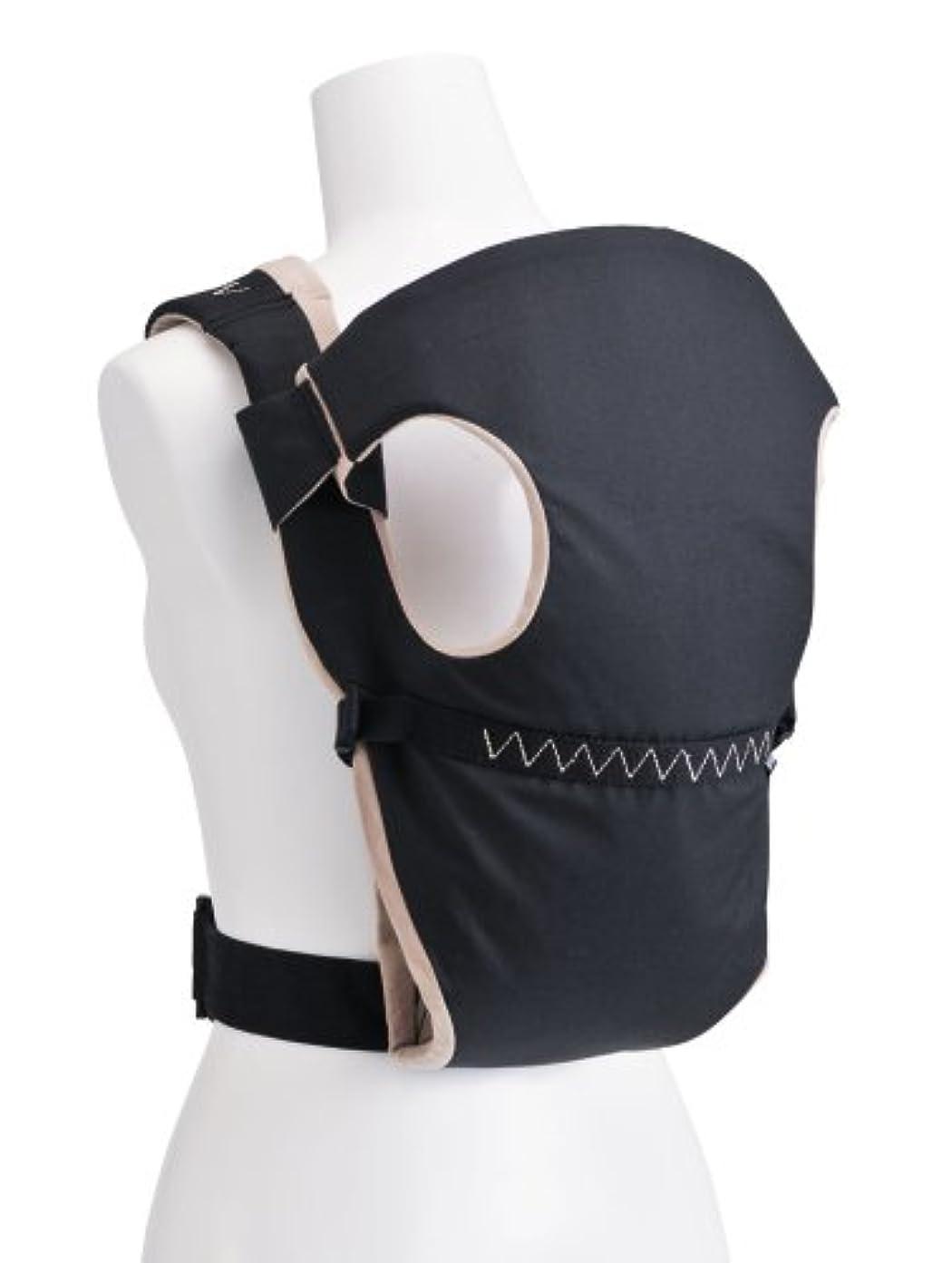 地元視力コイルMinizone 新生児 ベビースリング 抱っこひも X型 おんぶ紐 ベビーキャリア サイズ 調節可能 収納ポーチ 日本語説明書付き (三代目カーキ)