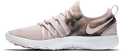 Nike Women's Free Run + 2 Ext Fabric Running Shoes (Pink/White, 11)