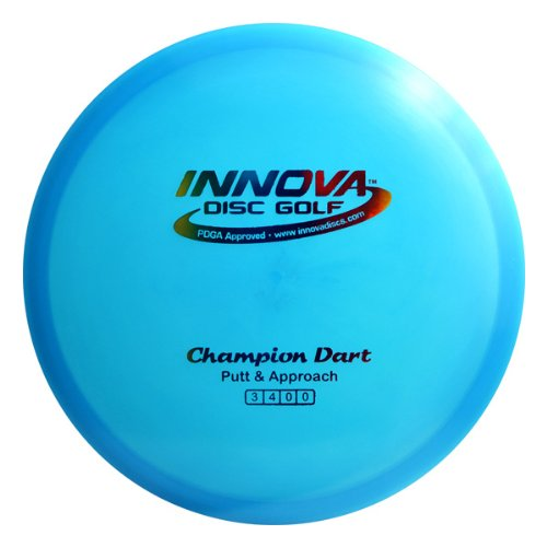 Innova Disc Golf Champion Material Dart Golf Disc, 165-169gm (Colors may vary) ()