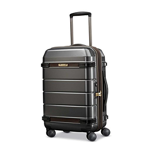 Hartmann Century Carry On Expandable Spinner Carry-On Luggage, Graphite/Espresso by Hartmann