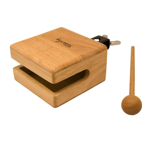 Tycoon Percussion 4.5 Inch Temple Wood Block ()