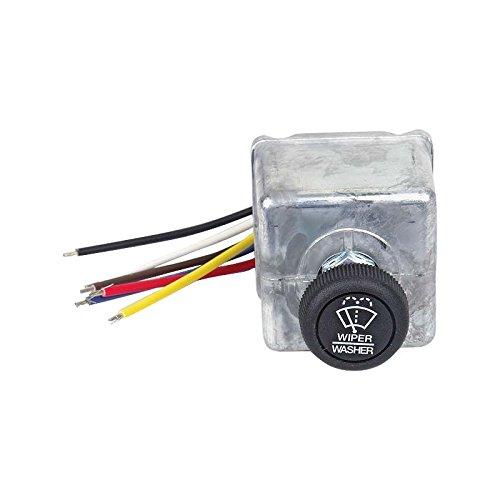 MACs Auto Parts 49-11527 Windshield Wiper Intermittent Delay Switch - Fits All WiperMotors -