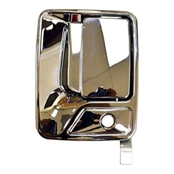 1 Rear Left 1 Rear Right 1 Front Right Outside Exterior Outer Door Handle Chrome PT Auto Warehouse GM-3523M-QP 1 Front Left