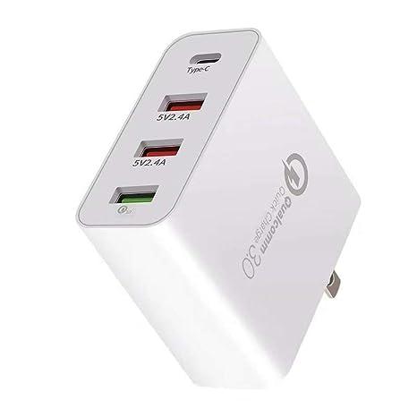 Lee Lam Adaptador De Corriente USB Cargador USB Puerto ...