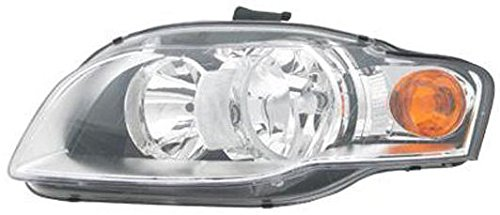 Headlight Headlamp Driver Side Left LH Halogen for Audi A4 S4