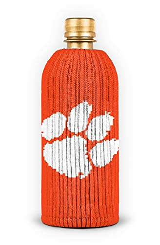 FREAKER Fits Every Bottle Can Beverage Insulator, Stops Bottle Sweat, NCAA Collegiate College Clemson University Tigers