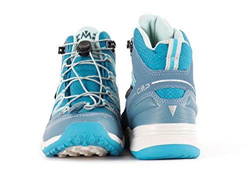 KIDS SIRIUS MID HIKING SHOES WP M MINERAL BLUE 25