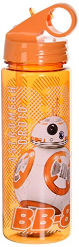 Silver Buffalo SE0764 Star Wars Episode 7 BB-8 Tritan Water Bottle, - York New Shopping City Malls
