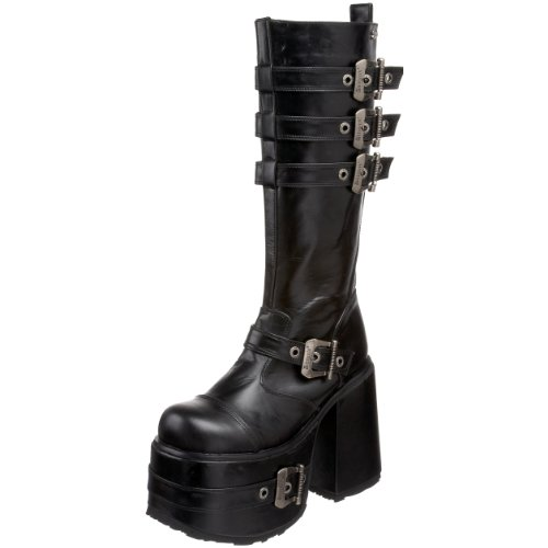 Pleaser Mens Chopper-101 Boot Svart Polyuretan