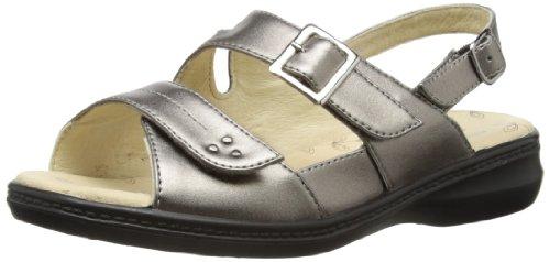 Padders - Zapatos para mujer Pewter Metallic