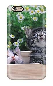 Cute Appearance Cover/tpu ONQLQfi8613HlETU Kittens In A Box Case For Iphone 6