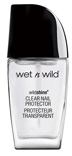 Wet N Wild Nail Color - Wnw Nail Clr 450b Clear P Size 0.41o Wet & Wild Wild Shine Nail Color 450b Clear Nail Protector 0.41fl Oz