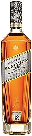 Johnnie Walker Platinum 70cl Blended Whisky (paquete de 70 cl)