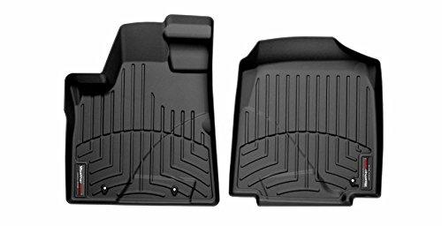 Honda Fit Floor Liner (WeatherTech Custom Fit Front FloorLiner for Honda Pilot (Black))