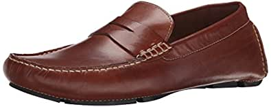 Cole Haan Men's Howland Penny Loafer,Saddle Tan,7 W US