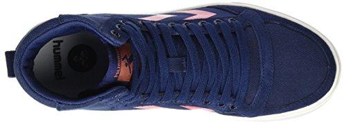 Stadil hummel Slimmer Hautes Bleu Hig Herringbone Peacoat Femme Sneakers Zfa7qBf