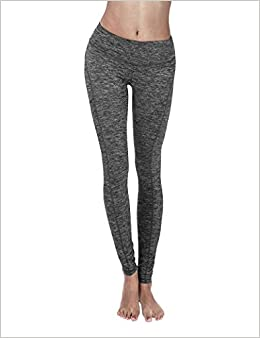 a2a3dc150cf0b Amazon.com: YOGARURU Yoga Pants for Women - Workout Yoga Leggings Pant -  Hidden Pocket (From XS to 2XL) , Charcoal , Small (0887287114282): Books