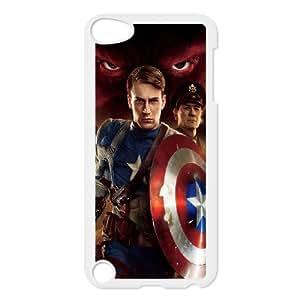 Ipod Touch 5 Csaes phone Case Captain America MGDZ93081