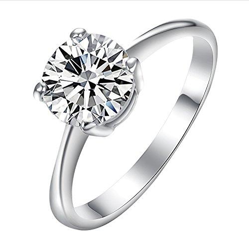 Yoursfs 18k Diamond Wedding Ring (Gold) - 8