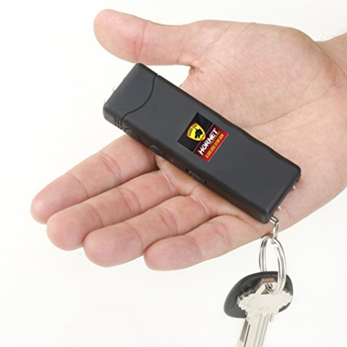 Guard Dog Hornet Keychain Stun Gun with LED Flashlight, World's...