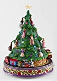 Jim Shore - Heartwood Creek - Rotating Musical Christmas Tree and Train by Enesco - 4009111
