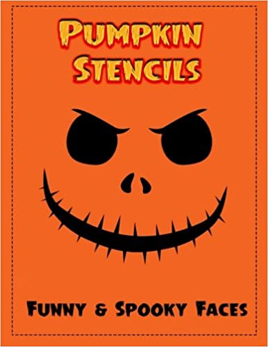 Pumpkin Stencils: 18 Funny & Spooky Faces, Pumpkin Carving Stencils ...
