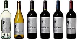 Taste of Dark Horse California Wine Mixed Pack, 6 x 750 mL