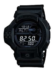 Casio GDF-100BB-1ER - Reloj digital de cuarzo para hombre con correa de resina, color negro