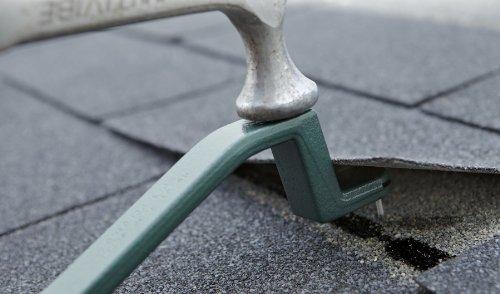 PacTool International RS501 Roof Snake, Shingle Nail Puller, Roof Shingle  Installer