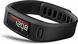 Garmin vívofit Fitness Band - Black Bundle (Includes Heart Rate Monitor)