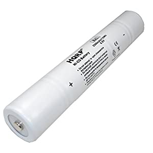 Amazon Com Hqrp Ni Cd 1 2d 6v 2500mah Rechargeable
