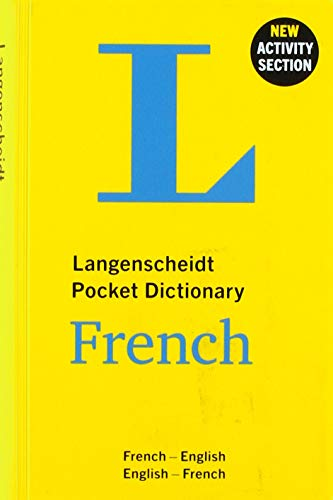 Langenscheidt Pocket Dictionary French: French-English/English-French (Langenscheidt Pocket Dictionaries)
