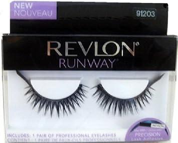 45834253f4c REVLON RUNWAY FALSE EYELASHES CREATE STUNNING EYES WITH DRAMATIC LASHES:  Amazon.co.uk: Beauty