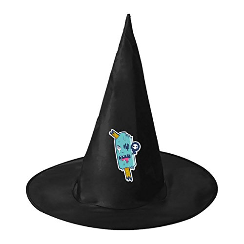 Cartoon Ice Sucker Conical Cosplay Witch Hat Toy to Halloween Costume Ball for Unisex Kids (Best Homemade Halloween Costume Ideas Adults)