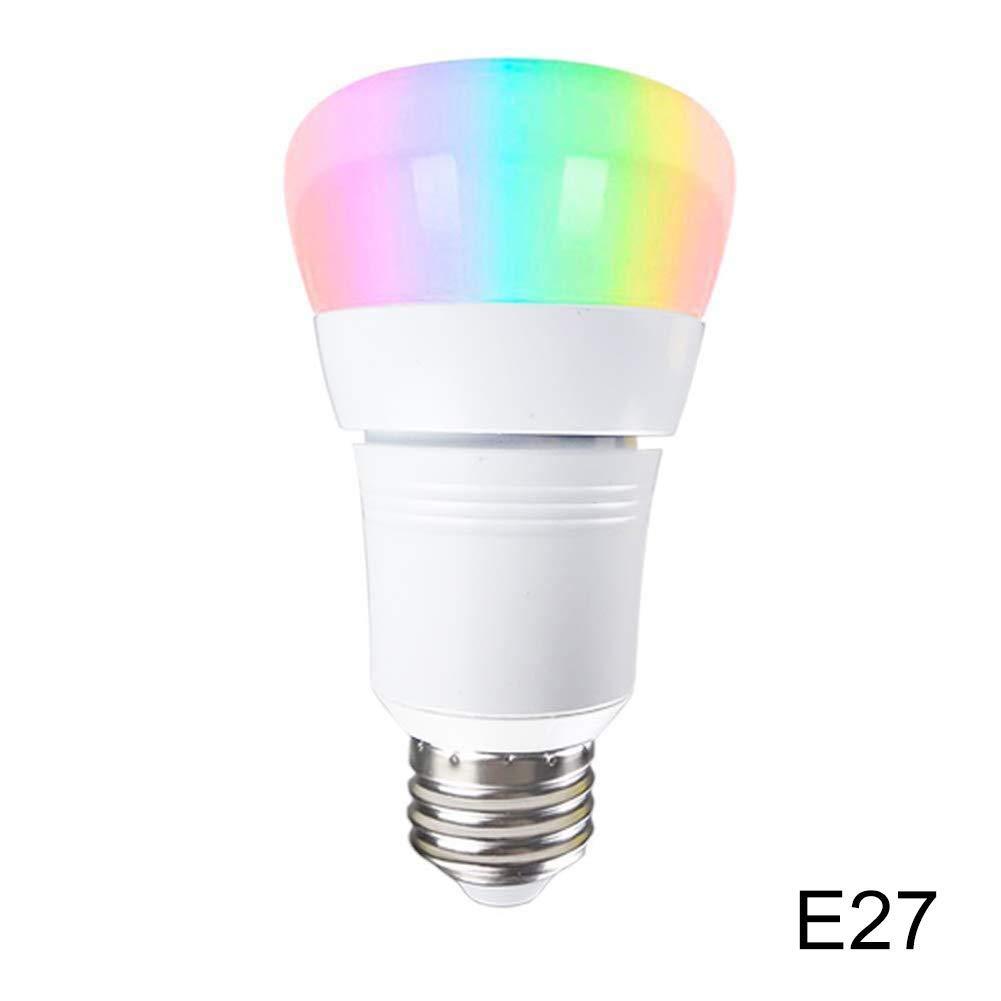 Luce LED Colorato 15 W per Google Home E27//E14//B22 Focale Smart con Controllo WiFi luoOnlineZ Lampadina LED Smart WiFi E14