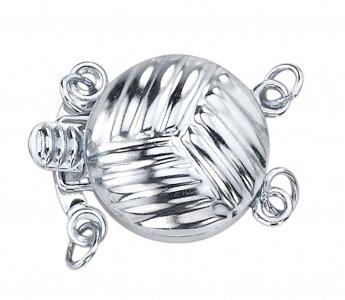 14K Or japonais-Bracelet Femme-Perles de culture Akoya Blanc Double de qualité AAA