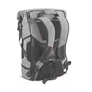 "Acer Predator Rolltop Backpack - For All 15.6"" Gaming Laptops, Travel backpack, Organized Pockets for All Gear, Teal Accents"
