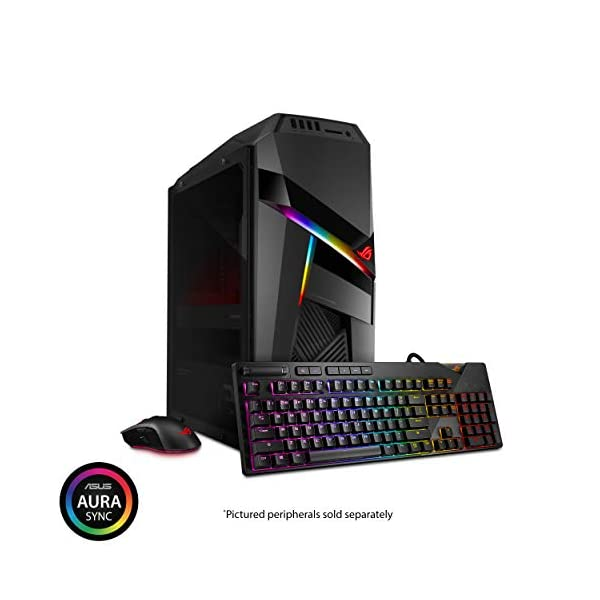 ROG Strix GL12 Gaming Desktop, Overclocked 9th Gen Intel Core i7-9700K, NVIDIA GeForce RTX 2070 8GB, 16GB DDR4 RAM… 7